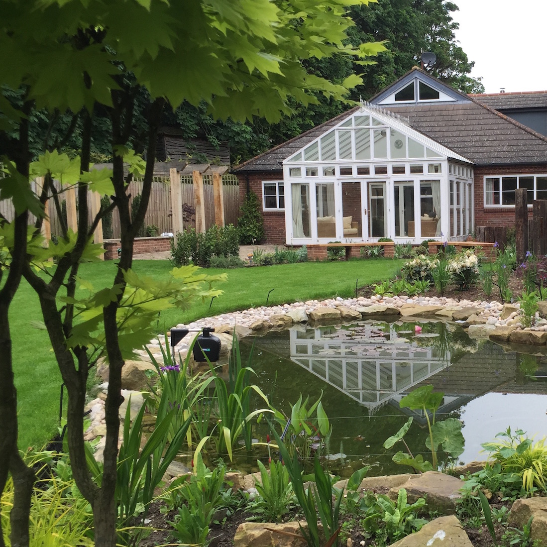 Loxley Koi Pond