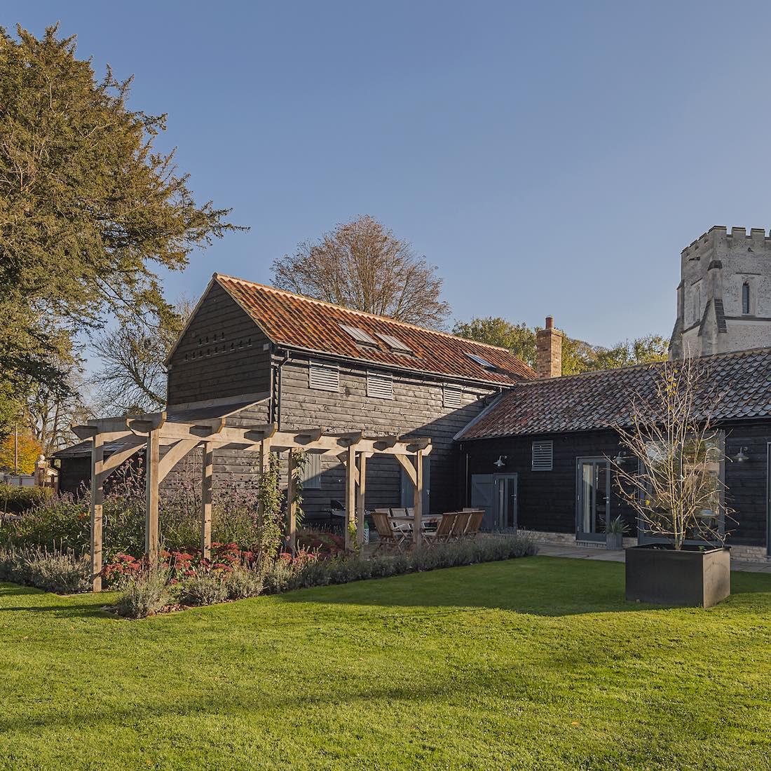 Manor Farm House, Newton, Garden Design and Build