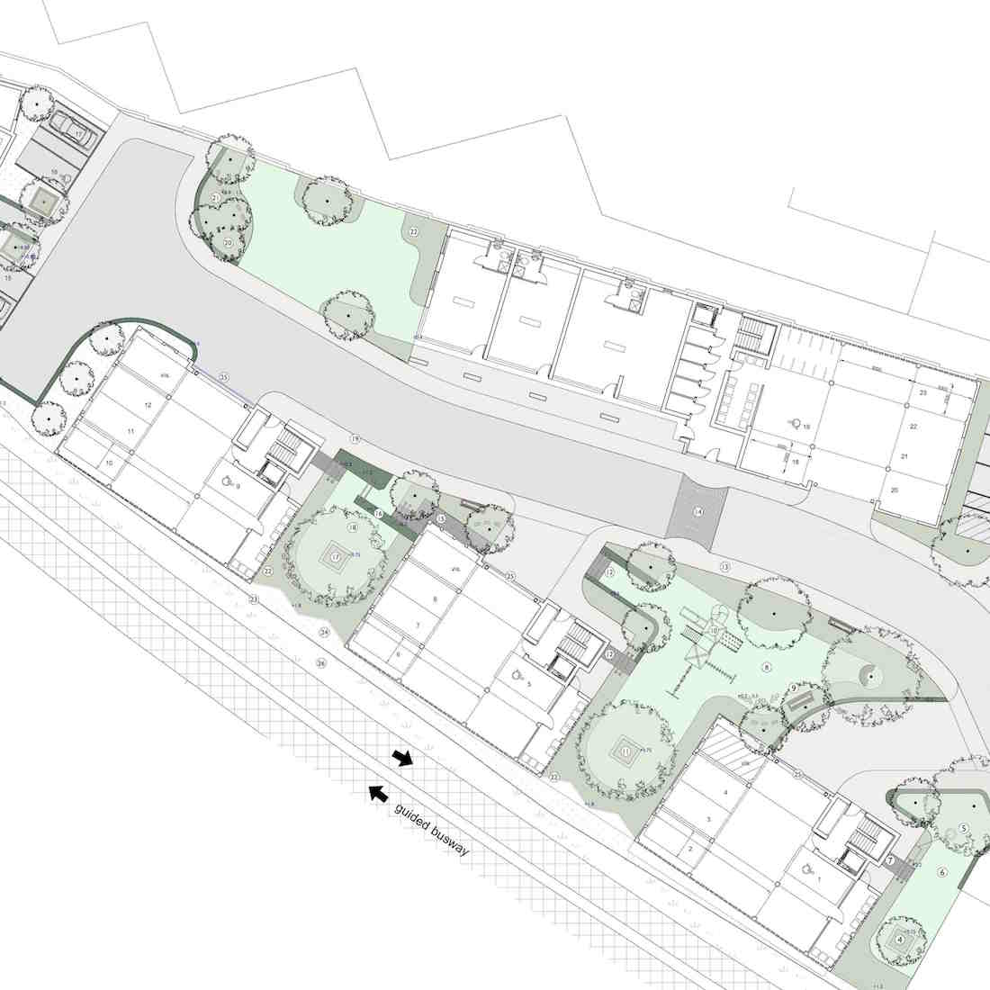Station Yard Impington, Landscape Proposal