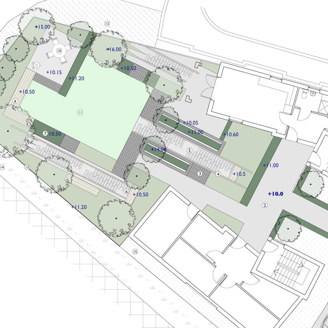 Station Yard Histon Private Gardens Garden