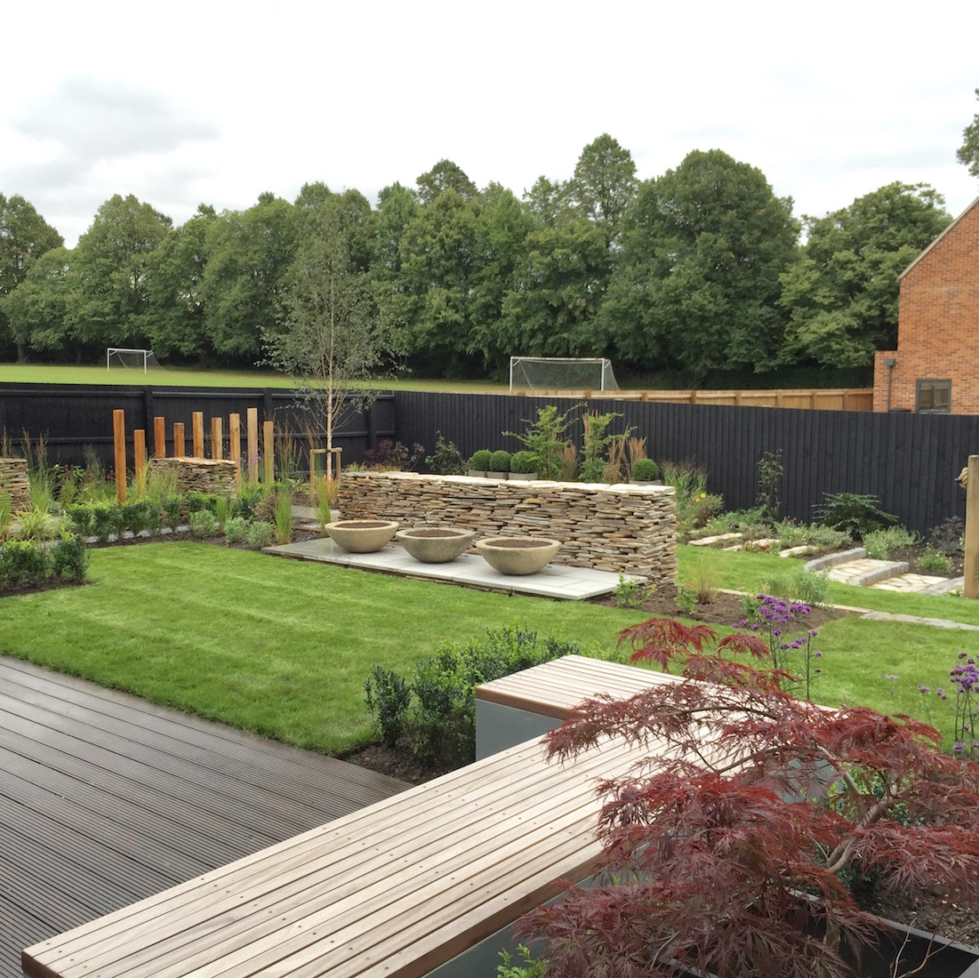 Contemporary Garden Saffron Walden