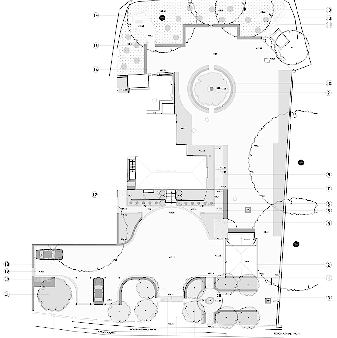 Period property family garden newton for Manor farm house plan