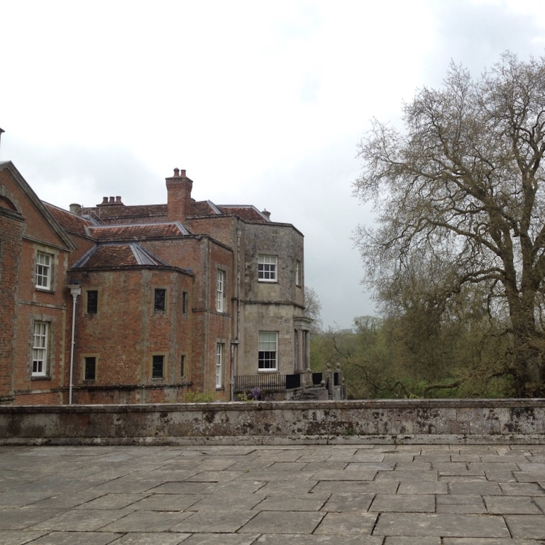 Mottisfont Abbey Terrace