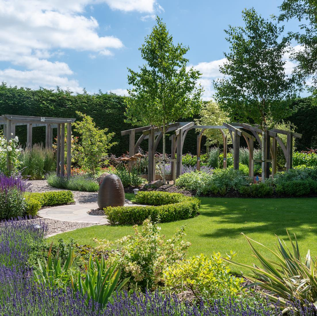 Old Wenden Grange Garden Design and Build, Saffron Walden