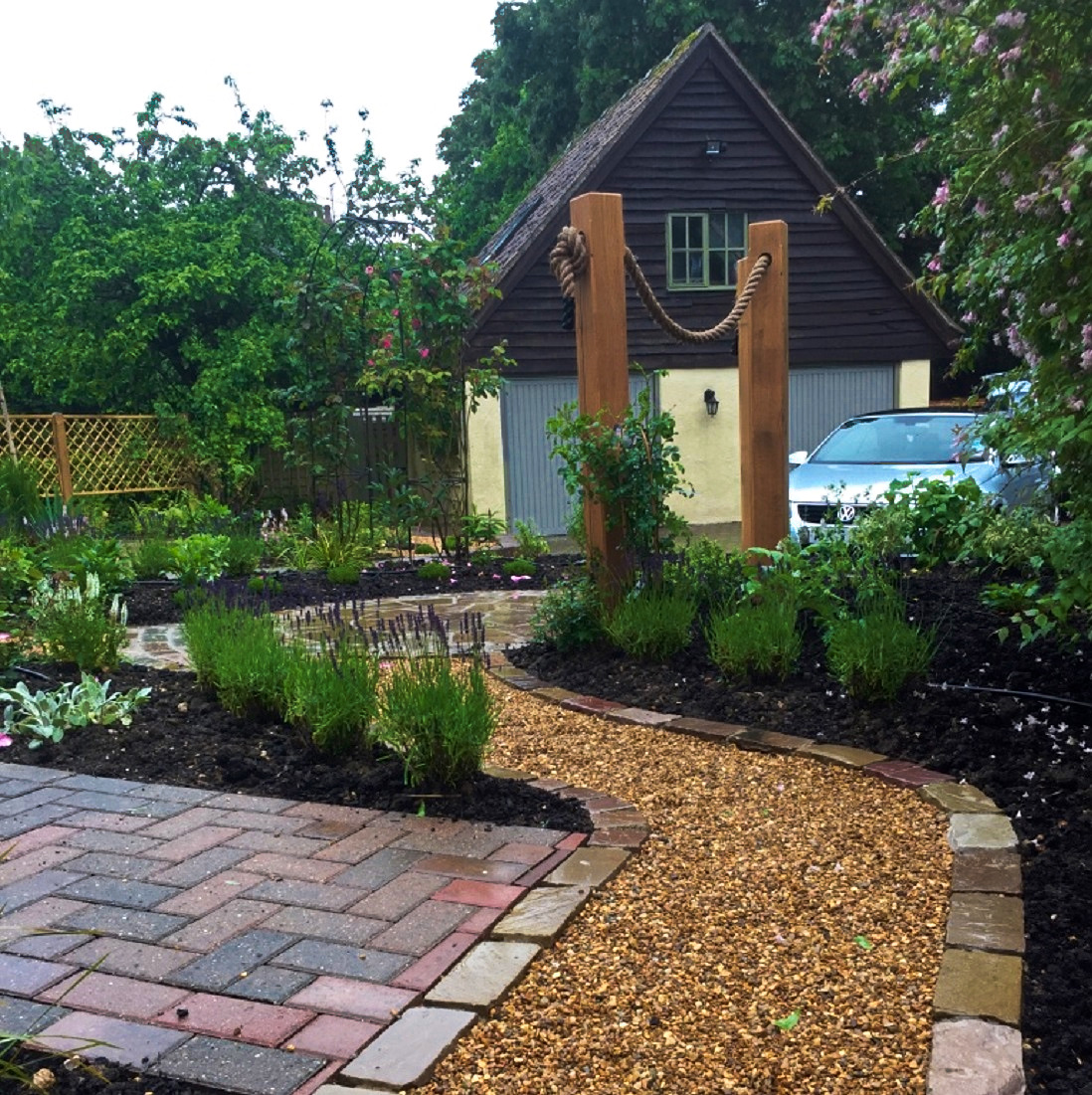 Thatched Cottage Garden 1